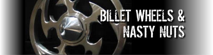 billet wheels nasty nuts